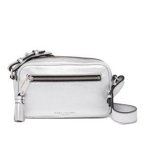Marc Jacobs Metallic Zoom Leather Crossbody Bag